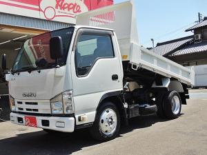 いすゞ エルフトラック 強化フルフラットローダンプ 積載2.0t コボレーンシート新品 車両総重量4895kg