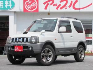 スズキ ジムニー ランドベンチャー 4WD / ターボ / コンビシート / DVDナビ / ルーフレール / 背面タイヤ / 革ステアリング / キーレスキー / フォグランプ