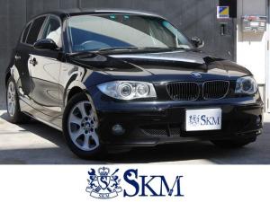 BMW 1シリーズ 118i HDDナビ バックカメラ DVD再生機能 キーレス HIDヘッドライト アルミ