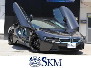 BMW i8  4WD インテリジェントセーフティ 20インチアルミ LEDヘッドライト ベージュ革 シートヒータ メーカーナビ 360度カメラ クルーズコントロール ミラー一体ETC コンフォートアクセス ドラレコ