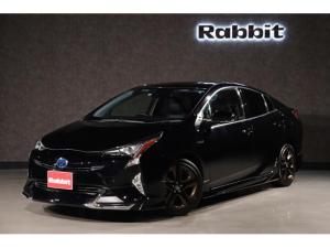 トヨタ プリウス Sツーリングセレクション フルセグ Bluetooth ドライブレコーダー クルーズコントロール LED ハイブリッド モデリスタ フルエアロ 禁煙 衝突軽減ブレーキ レザーシート スマートキー レーダークルーズ