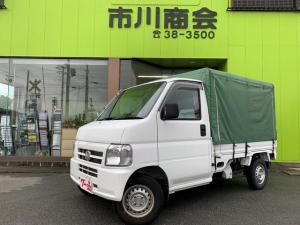 ホンダ アクティトラック SDX 幌付き エアコン パワステ 5速 Tベルト交換納車