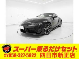 トヨタ スープラ SZ-R  純正HDDナビ   セーフティセンス