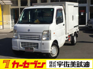 スズキ キャリイトラック 冷凍車1WAYエアコン AM/FMラジオ パワステ エアバック マニュアルA/C ETC