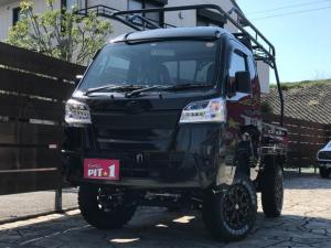 ダイハツ ハイゼットトラック ジャンボ 4インチリフトアップ ハードカーゴキャリア 届出済未使用車