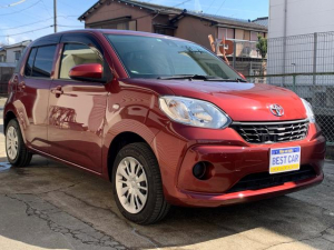 トヨタ パッソ X LパッケージS キーレス 車検整備付き 走行距離3.3万KM台