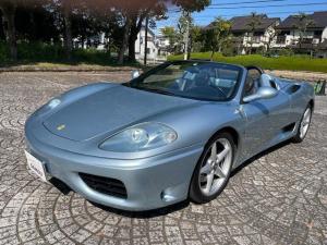 フェラーリ 360 スパイダー F1 V8DOHC 正規Dノーマル車