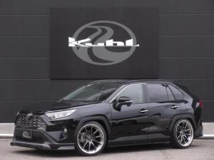 トヨタ RAV4 X 4WD 新車カスタムコンプリート KUHLエアロ BLITZ車高調 4本出しマフラー VERZ20インチアルミホイール 7インチナビ