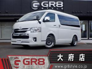 トヨタ ハイエースワゴン GL SD地デジナビ/スマートキー&エンジンプッシュスタート/パノラミックビューモニター/デジタルインナーミラー/トヨタセーフティセンス/Bカメラ/ETC/パワースライドドア/LEDヘッドライト