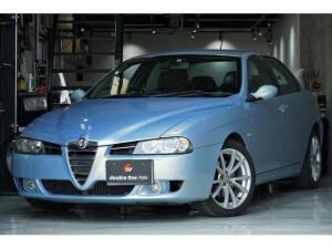 アルファロメオ アルファ156 TI 2.5 V6 24V ブラックレザースポーツシート
