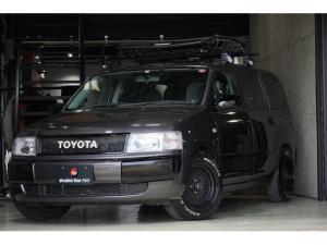 トヨタ プロボックスワゴン F エクストラパッケージ リフトアップ 社外AW 社外ナビ THULEルーフラック