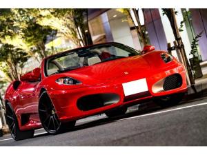 フェラーリ F430スパイダー F1 走行8000キロ台/屋内保管/フェラーリバック&工具未開封/燃料ポンプ交換済/イエローレブカウンター/社外HDDナビ/バックカメラ/HYPER FORGED20in/カーボンインテリア/可変バルブ