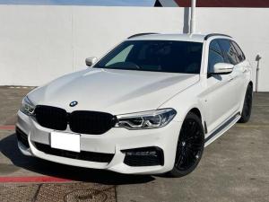 BMW 5シリーズ 523iツーリング Mスポーツ ETC 前方位カメラ 衝突被害軽減ブレーキ 純正HDDナビ 純正19インチアルミ LEDヘッドライト