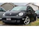 フォルクスワーゲン/VW ニュービートル ターボ 黒革シート サンルーフ ローダウン 18インチAW