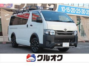 トヨタ ハイエースバン ロングDX 純正ナビ・地デジTV・Bluetooth・ETC