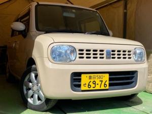 スズキ アルトラパン X 車検4年8月 ナビ+TV アルミ