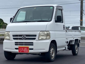 ホンダ アクティトラック ベースグレード 5速マニュアル エアコン パワーステアリング 作業灯  純正ラジオ 軽トラック