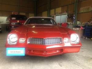 シボレーカマロ  1981年モデル  並行車 ベルリネッタ 5.0L V8 社外AW 2本出しマフラー 社外デッキ