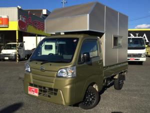 ダイハツ ハイゼットトラック スタンダード トラベルハウス ナビTV 5MT 4WD 外部電源入力 12AW