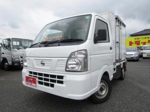 日産 NT100クリッパートラック  低温冷蔵冷凍車 -25度設定表示 左サイドドア 樹脂スノコ オートマ車