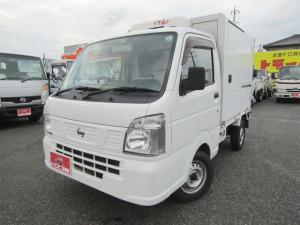 日産 NT100クリッパートラック  -5℃設定冷蔵冷凍車 左サイドドア 樹脂スノコ オートマ車