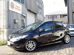 マツダ デミオ スポルト フルノーマル車 マニュアルモード 16インチアルミホイール ETC HID SDナビ 地デジ
