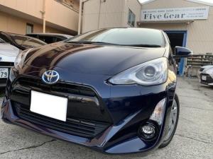 トヨタ アクア G 走行距離1.5万KM台 ナビTV バックカメラ スマートキー ワンオ-ナ-