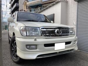 トヨタ ランドクルーザー100 社外ホイール ヒッチメンバー