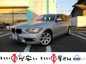 BMW 1シリーズ 116i スタイル 禁煙車 HDDナビ DVD シートヒーター レザーシート スマキー ETC 取扱説明書 記録簿