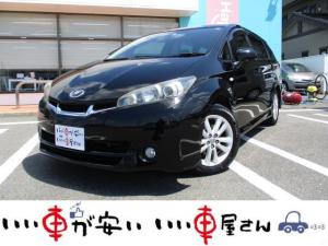 トヨタ ウィッシュ 1.8S 禁煙車 HDDナビ フルセグ CD再生 DVD再生 Bカメ スマキー ETC