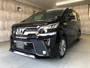 トヨタ ヴェルファイア 2.5Z Aエディション ゴールデンアイズ サンルーフ 純正9インチナビ・TV