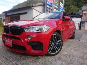 BMW X6 M ベースグレード 右ハンドル 純正ナビ フルセグ ハーマンカードン バックカメラ ETC フロントH&Rサス 純正21AW ブラウンレザー 電動リアゲート カーボンインテリアパネル 車検R5.1月
