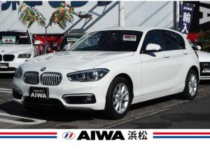 BMW 1シリーズ 118d スタイル インテリジェントセーフティー 純正ナビ バックカメラ コーナーセンサー クルーズコントロール ホワイトハーフレザーシート  オートエアコン 純正16インチAW キセノン オートライト キーレス ETC