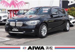 BMW 1シリーズ 116i スタイル ワンオーナー 禁煙車 純正ナビ ハーフレザーシート アイドリングSTOP プッシュスタート 走行モード切替 純正16インチAW キセノン オートライト キーレス ETC