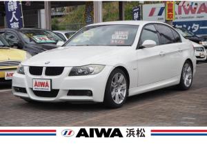 BMW 3シリーズ 320i Mスポーツパッケージ 禁煙車 社外ナビ フルセグTV パワーシート 左右独立温度調整式オートエアコン 純正17インチAW キセノン キーレス ETC