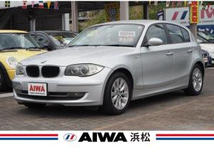 BMW 1シリーズ 116i 社外ナビTV バックカメラ AUX外部接続端子 左右独立温度調整式オートエアコン 純正16インチAW キセノン キーレス ETC