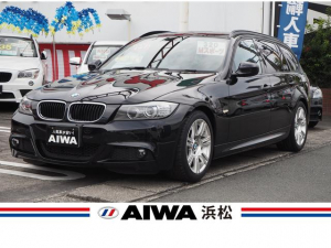 BMW 3シリーズ 320iツーリング Mスポーツパッケージ 禁煙車 純正HDDナビ CD/DVD再生 FM/AM Bluetooth接続 USB入力端子 純正アルミ キセノン 左右独立式オートエアコン ミラー一体型ETC キーレス スマートキー オートライト