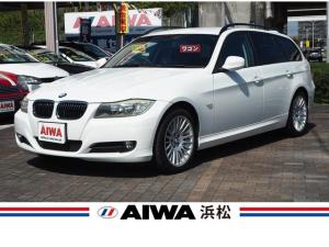 BMW 3シリーズ 320iツーリング 純正CDデッキ AUX端子対応 パワーシート 左右独立式オートエアコン プッシュスタート 純正17インチAW スマートキー ETC