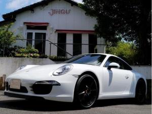 ポルシェ 911 911カレラ PDK ディーラー車 スポーツクロノ パドル付スポーツハンドル レザーシート シートヒーター 純正20インチブラックAW カラークレスト 後部パークセンサー キセノンヘッドライト ナビ バックカメラ