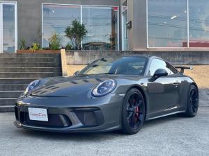 ポルシェ 911 911GT3 991.2 ワンオーナー フロントリフター アゲートグレー スポーツクロノ LEDヘッドライト(PDLS)ブラックペイントホイール 自社新車輸入車両