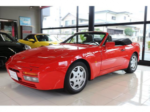 ポルシェ 944 944S2 カブリオレ ディーラー車