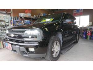 シボレートレイルブレイザー LTZ 4WD サンルーフ・革シート・保証書・取説・記録簿