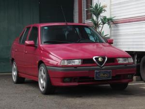 アルファロメオ アルファ155 2.0 ツインスパーク 16V ワンオーナー 同色全塗装渡し 色替えも相談可能