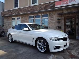 BMW 4シリーズ 420iグランクーペ Mスポーツ ベージュ本革インテリア ワンオーナ インテリジェントセーフティ アダプティブクルーズ 360度カメラ パワーバックドア コンフォートアクセス