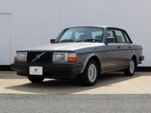 ボルボ 240 GL 黒レザーシート ETC