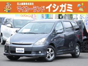 トヨタ ウィッシュ X Sパッケージ 4WD DVDナビ Bカメラ HID