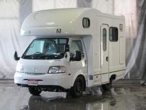 マツダ ボンゴトラック  キャブコン キャンピング AtoZアミティ ボスコ オートマ4WD FFヒーターBカメラ