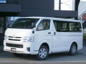 トヨタ ハイエースバン ロングDX ディーゼルターボ 4WD 寒冷地仕様 ツインバッテリー 5ドア 6人乗 ABS エアバック キーレス パワーウインドウ ETC