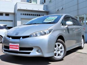 トヨタ ウィッシュ 1.8S 4WD HDDナビ・地デジ・CD/DVD/Bluetooth・バックカメラ・HIDライト・パドルシフト・横滑り防止・ドラレコ・7人乗り・寒冷地仕様