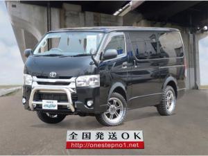 トヨタ ハイエースバン ロングDX GLーP チョイあげ 3.0D-T 4WD 9人